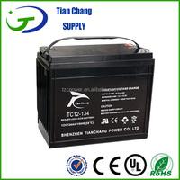 12V 134ah Rechargeable valve regulated lead acid batteryDeep Cycle Battery