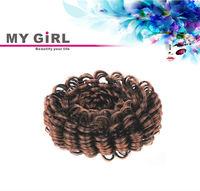 MY GIRL new arrival factory price hair accessories ,hair donut bun, afro hair bun for black women
