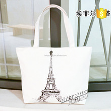 Recyclable shopping customized folding cotton bag
