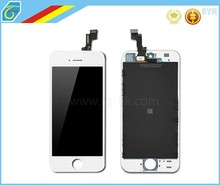 High Quality 100% Test For iPhone 5S LCD Screen Display With Touch Screen Digitizer Assembly White/Black