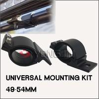 Universal adjustable Mounting Kit Bull Bar Mounting Lights Bracket Clamp