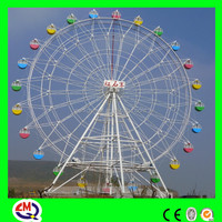 30 years China manufacturer 30m big wheel for sale
