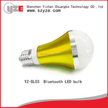 2015 hot sale bluetooth low energy dimmable smart led light bulb