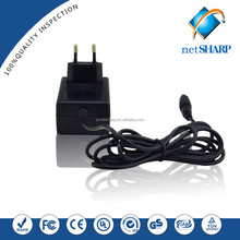 Factory price 12v 1a power adapter for travel to china for tablet