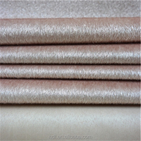 cheap faux fur 100% pure polyester fabric