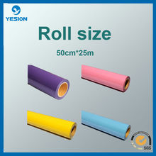 Factory directly sell! Best quality PU PVC Flock Heat Transfer Vinyl for clothing