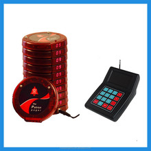 2015 Most popular Guest Table Waiting,New Numeric Coaster Pager ,Buzzer for Fast Food