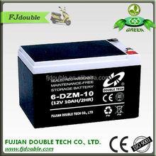 sealed lead acid long life 12v 10ah battery for electric vehicle