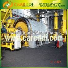 tire recycling waste tyre pyrolysis oil machine/tyre recycling