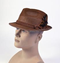 Fashion Oktoberfest Hat brown traditional bavarian hat beer hat HT5072