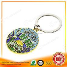 High quality multi ring metal key fob