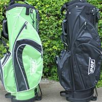 same shape design for golf cart bag and golf stand bag