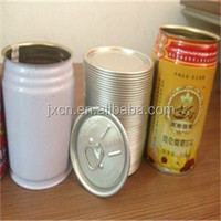 empty customer tinplate beer / beverage cans 250ML
