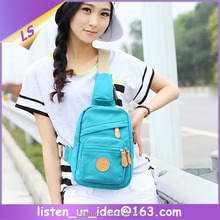 Girls Sport Sling Backpack Canvas Fashion Gadget Pack