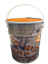 20 litres round metal drum for packing paint and other chemical