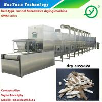 Belt type Microwave Cassava Chips Dryer / Drying Machine /Alice 0086 18910671509
