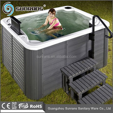 2015 New Design Acrylic Spa Bike To Do Exercise Under Water Outdoor Spa Bike