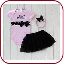 Hot baby girl princess dresses bunny baby costume baby romper PGBC-0518