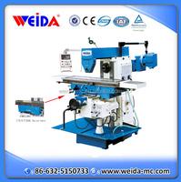 XW6136 dro universal knee type milling machine for sale
