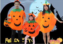 2015 Top selling children adults halloween gift costume pumpkin design party kids toy cosplay sexy halloween pumpkins suits