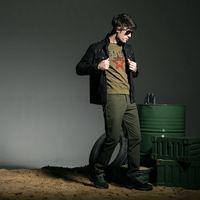 FreeArmy manufacturer OEM outdoor wholesale mens black denim jacket
