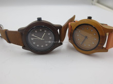 fashional style wooden watches made by different color wood