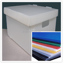 Christmas ornament PP plastic box/container/plastic folding box