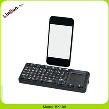 Built-in Wireless Touchpad Mini Bluetooth Keyboard for Smartphone Tablet Smart TV Laptop Desktop Android google . com keypad