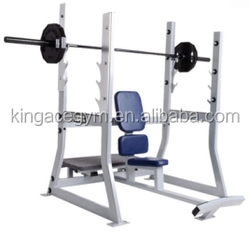 Gym Equipment/Commercial Olympic Military Bench