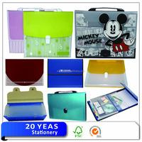 Stationery A4 13 pockets plastic PP accordion file folder