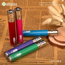 Carbon fibre printing one week usage eGo II twist 2200mAh battery ego battery vaporizer