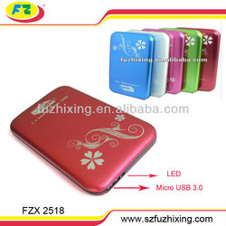 Micro USB3.0 to 2.5 inch SATA SSD HDD Enclosure Case