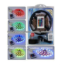 Explosive price Blister kit RGB led strip set with 5050 led