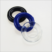 Factory direct selling delay Ejaculation Donut stay hard Rubber Cock Ring