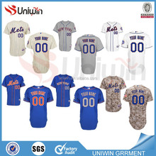 New York Mets Customized Personalized MLB Baseball Jersey