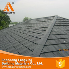 New design fashion low price resin shingle roof tile