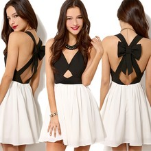 New Fashion Womens Bodycon Dress Ladies White Hollow Out Sexy Party Bandage Dress ZT-004228#