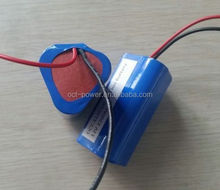 Rechargeable 3S1P lithium ion Battery li ion battery pack 11.1v 2200mah