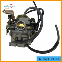 KUNFU Carburetor For Motorcycle Scooter PD22 Carby