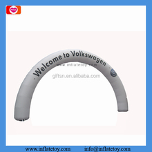 Two sided printing outdoor event inflatable entrance arch balloon arch for promotion