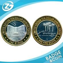 Souvenir Metal Coins Game Token Coin