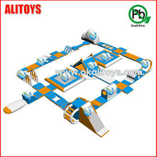 2015 Alitoys Newest water park, inflatable floating water park from China