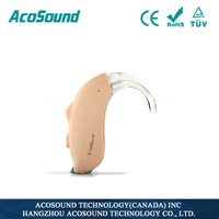China AcoSound Acomate 420 BTE non-programmable cheap hearing aid deaf equipment