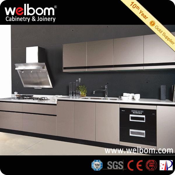 Welbom nuevo estilo muebles de cocina de lujo moderno - Estilos de muebles de cocina ...