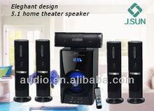 Newest design home cinema 5.1 speaker system(DM-8008)