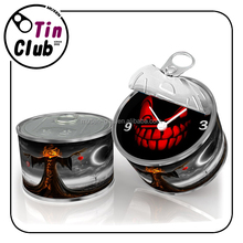 China Wholesale Cheap Makeup Set Magnetic Can Clock Halloween