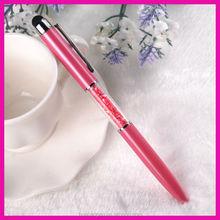 Novelty gift customized imprint oem mini stylus touch screen ball pen