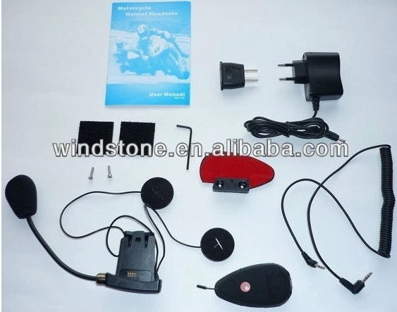 High quality Motorcycle intercom bluetooth helmet headsets