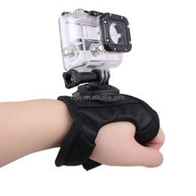 360 degree Rotation,Creative Glove-style Mount with screw for GoPro Hero 3+ 3 2 1 (Model D)