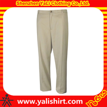 China OEM custom plain dri fit golf pants trousers for men